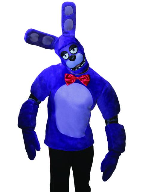 Disfraz de Bonnie Five Nights at Freddy's para adulto