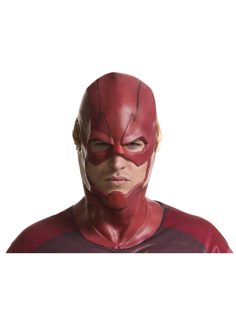 Máscara The Flash de vinilo para hombre