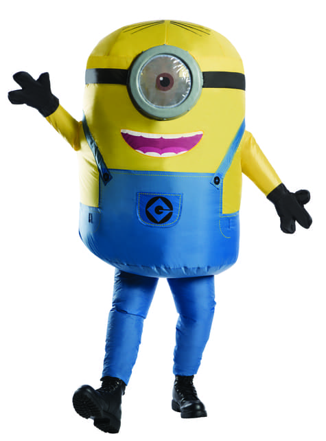 Inflatable Minions Stuart Costume for adults
