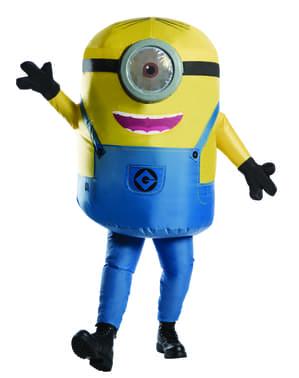 Oppblåsbar Minion Stuart Kostyme for voksne
