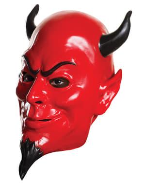 Máscara de Red Devil Scream Queens para adulto