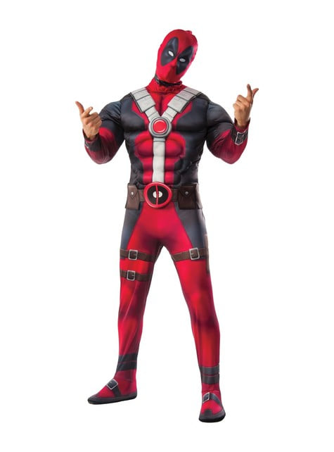 Disfraz de Deadpool musculoso