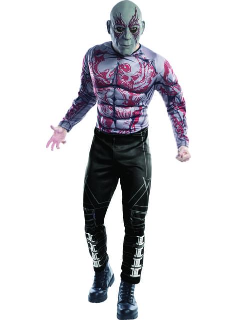Disfraz de Drax deluxe Los Guardianes de la Galaxia para hombre