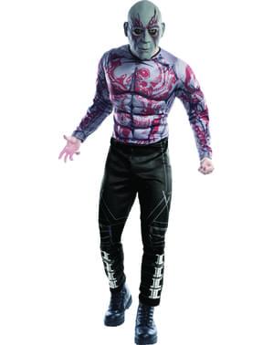 Fato de Drax deluxe Os Guardiões da Galáxia para homem