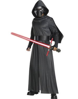 Klassisk Kylo Ren Star Wars kostyme for menn