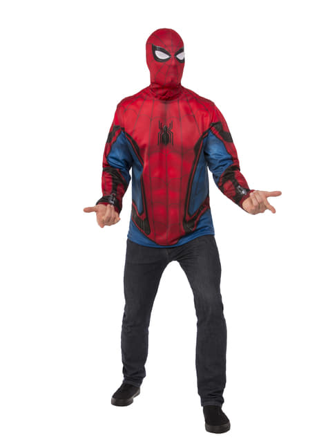 Kit disfraz Spiderman Homecoming para hombre