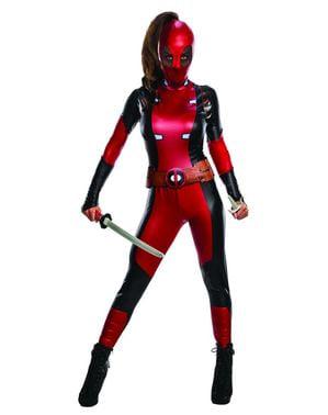 Maskeraddräkt Deadpool Secret Wishes dam