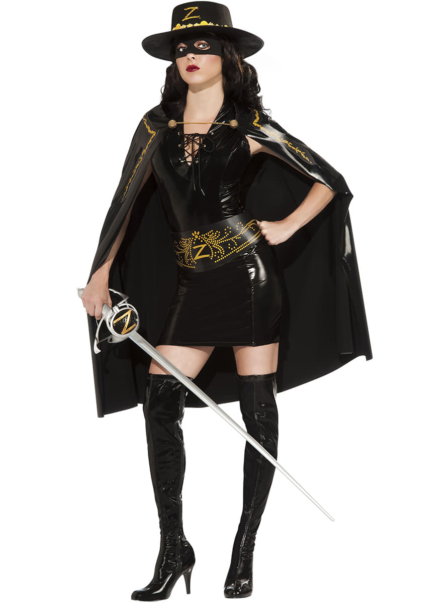 Sexy Zorro costume for women. Detalle Zoom  sc 1 st  Funidelia & Sexy Zorro costume for women. The coolest   Funidelia