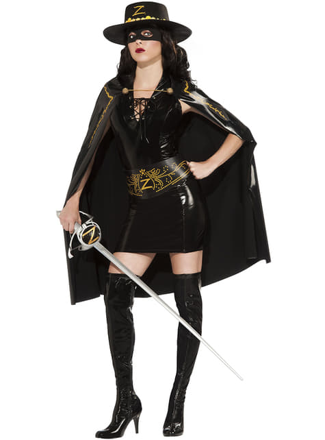 Sexy Zorro costume for women