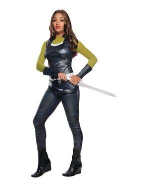 Costum Gamora Gardienii Galaxiei pentru femeie