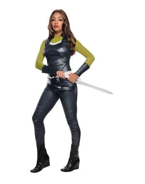 Guardian of the Galaxy Gamora kostyme for dame