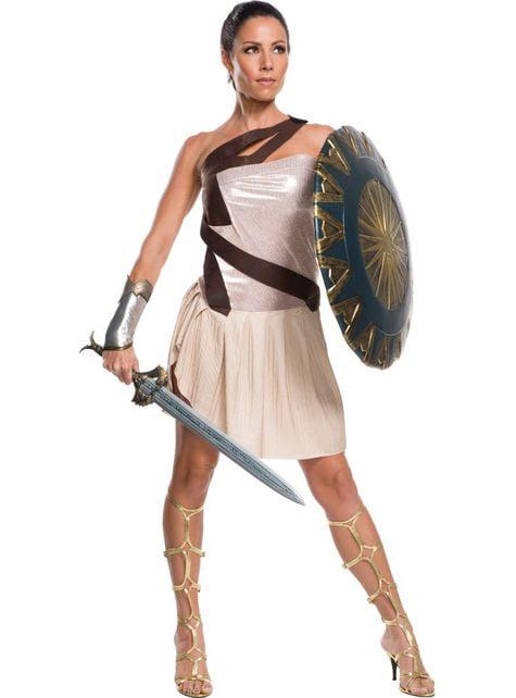 Wonder Woman Beach Battle Kostüm für Damen
