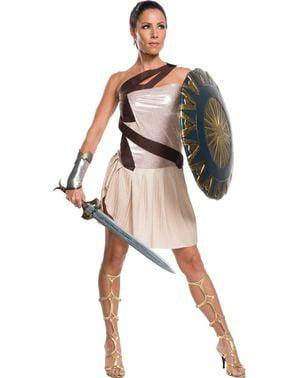 Wonder Woman strandkamps plus size kostume til kvinder