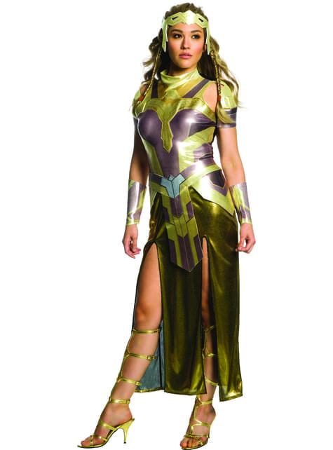 Disfraz de Hippolyta Wonder Woman deluxe para mujer