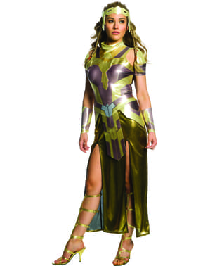 Costum Hippolyta Wonder Woman deluxe pentru femeie