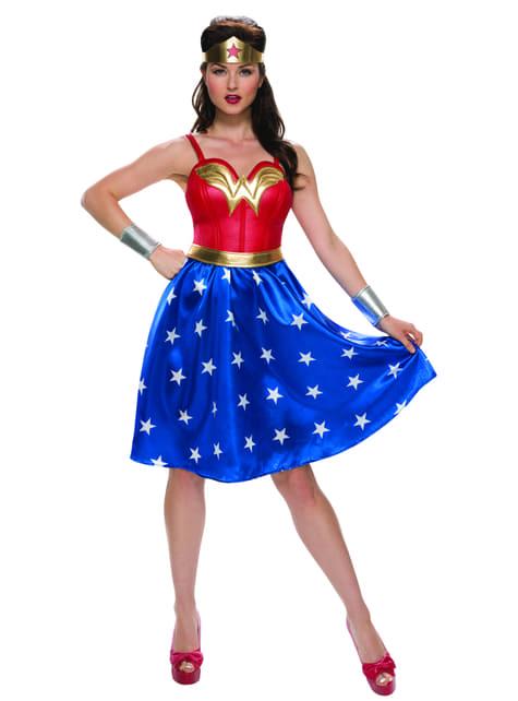 Wonder Woman kostuum Movie voor vrouw