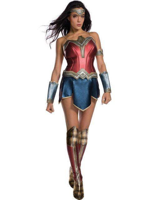 Fato de Wonder Woman Secret Wishes para mulher