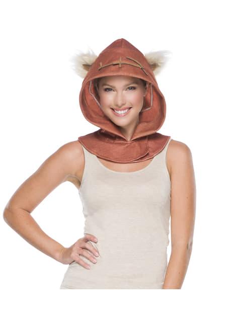 Capucha de Ewok Star Wars para adulto