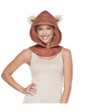 Ewok Star Wars hood for adults