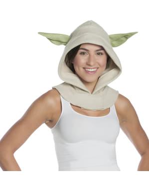 capuz de Yoda Star Wars para adulto
