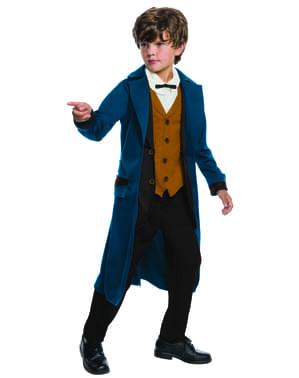 Newt Scamander kostume Deluxe fra Fantastiske Skabninger og Hvor De Findes til drenge