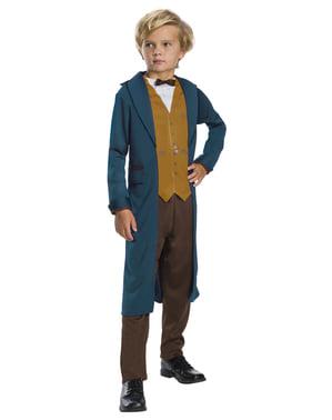 Klassisk Newt Scamander kostyme fra Fabeldyr og hvor de er å finne (Fantastic Beasts) for gutter