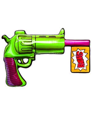 Pistola insuflável de Joker Esquadrão Suicida para adulto
