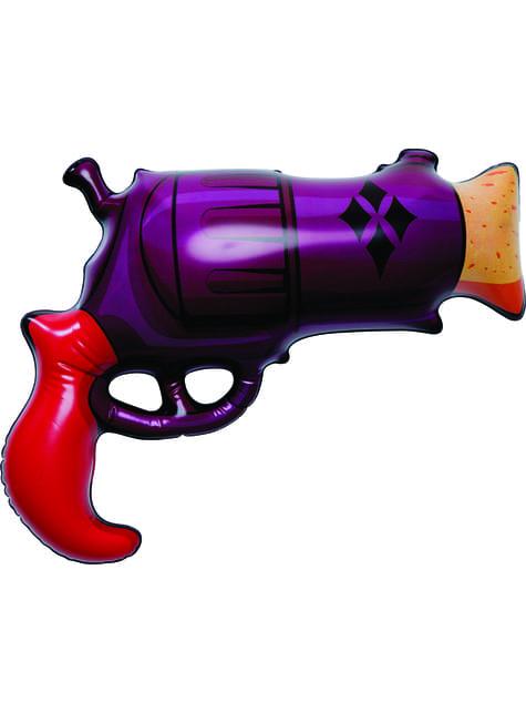 Pistola hinchable de Harley Quinn para adulto
