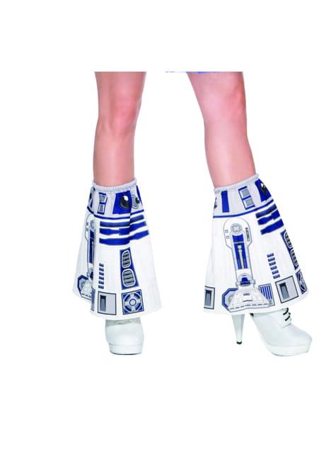 Aquecedores de R2D2 Star Wars para mulher