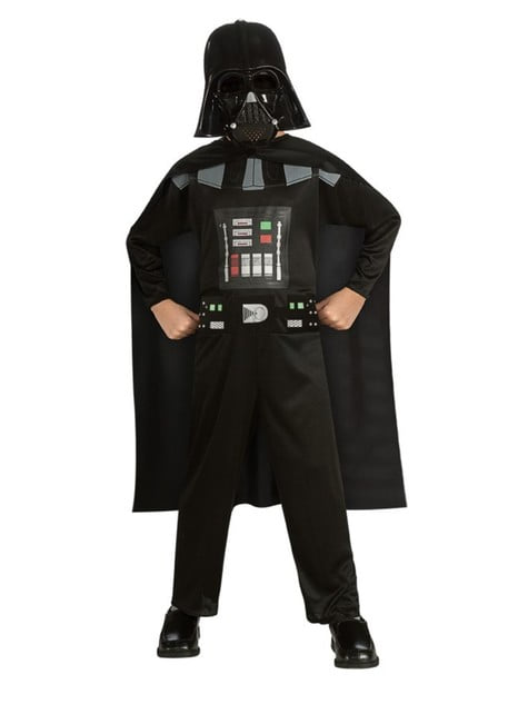 Fato de Darth Vader Star Wars classic para menino