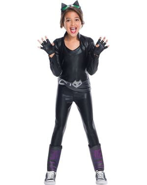 Deluxe Catwoman DC Super Hero Girls kostuum voor meisjes