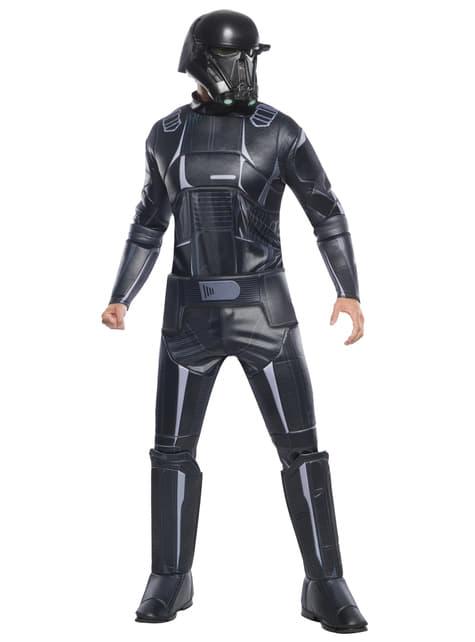 Disfraz de Death Trooper Star Wars Rogue One deluxe para niño