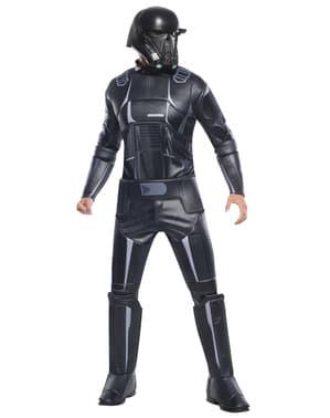 Maskeraddräkt Death Trooper Star Wars Rogue One deluxe för barn