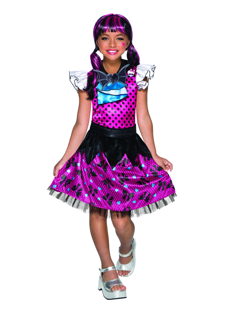 Disfraz de Draculaura Monster High supreme para niña: comprar online ...