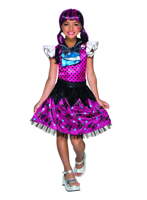 Supreme Dracaulaura Monster High kostyme for jenter
