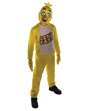 Five Nights at Freddy's Chica Costume for Kids