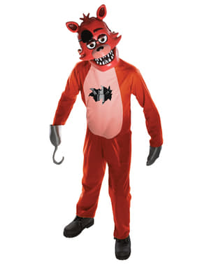 Five Nights at Freddy's Foxy Costume for Kids