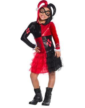 Dívčí kostým Harley Quinnové
