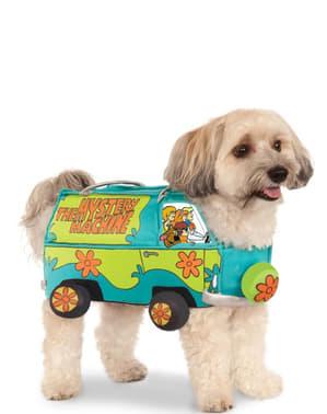 Fato da Máquina do mistério Scooby Doo para cão