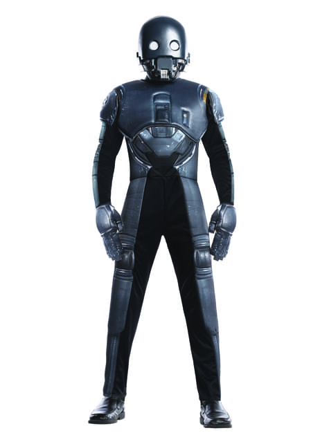 Disfraz de K-2SO Rogue One Star Wars deluxe infantil