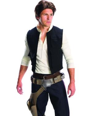 Peruk Han Solo Star Wars vuxen