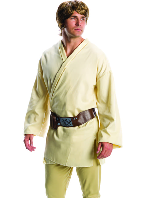 Peluca de Luke Skywalker Star Wars para hombre