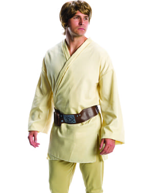 Luke Skywalker Star Wars pruik voor mannen