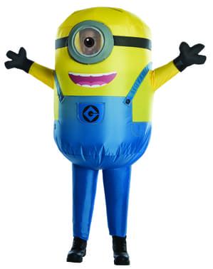 Oppblåsbar Minion Stuart Kostyme for barn