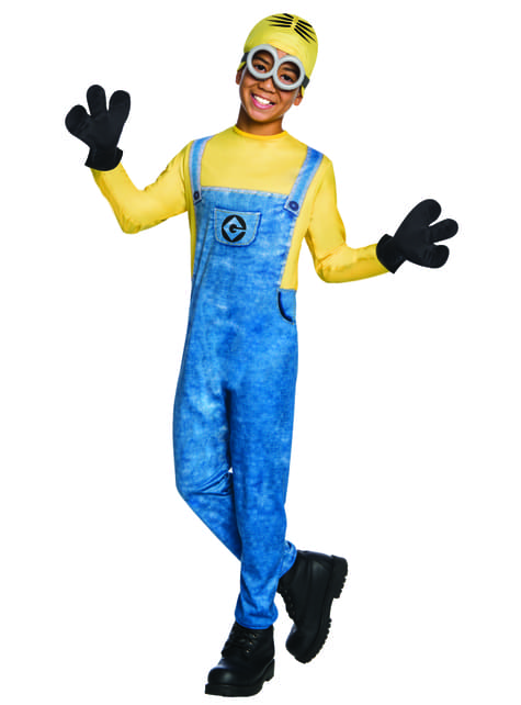Minion Dave costume from Despicable Me 3 for kids