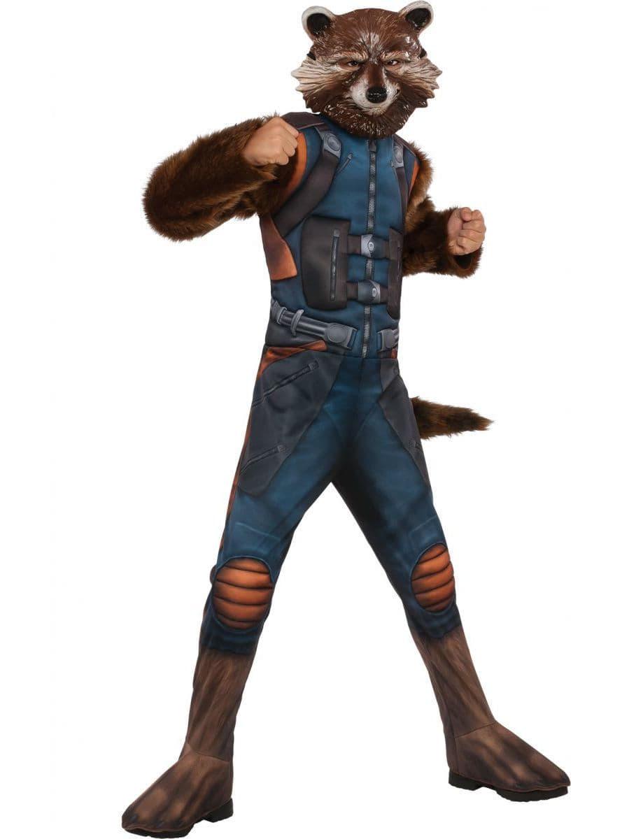 Disfraz De Rocket Raccoon Guardianes De La Galaxia 2