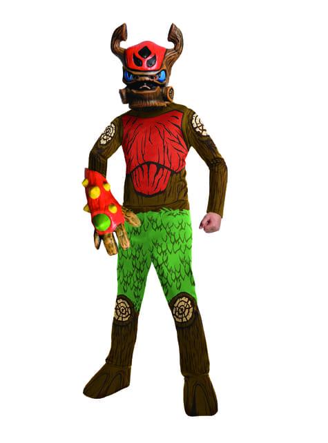 Maskeraddräkt Tree Rex Skylanders barn