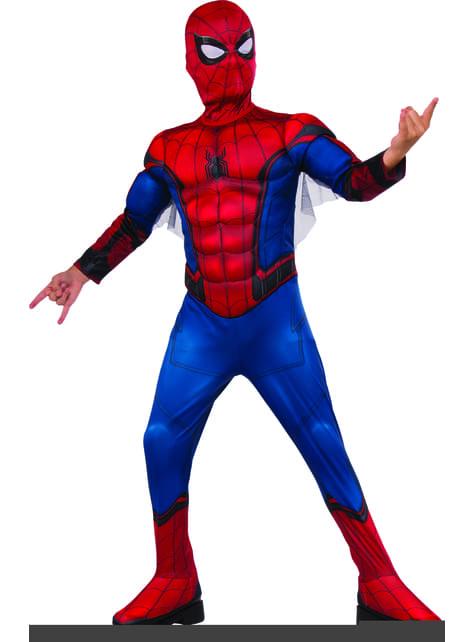 Poikien deluxe Spiderman Homecoming-asu
