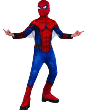 Maskeraddräkt Spiderman Homecoming classic för barn