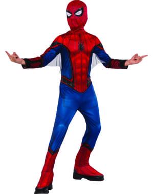男の子のためのスパイダーマンホームカミングコスチューム